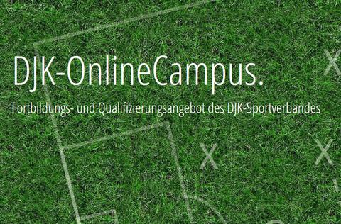 Guter Start: DJK-OnlineCampus.